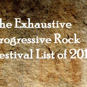 Exhaustive Prog Festival List – 2017