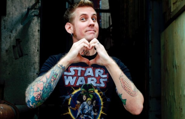 Brann Dailor Editorial Portrait