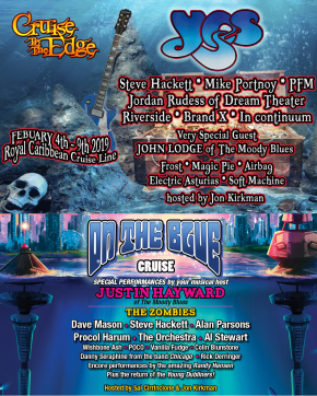 Cruise to the Edge 2019/On the Blue Cruise tickets onsale, initial lineups released