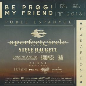 Interview with Juan Antonio Muñoz about Be Prog! My Friend 2018
