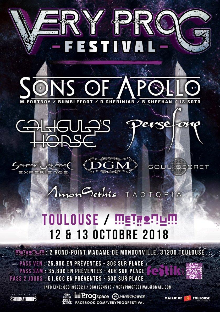 Very Prog Festival poster
