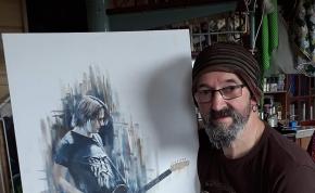 Artist Profile: Charlie Roy, Prog PortraitPainter