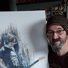 Artist Profile: Charlie Roy, Prog Portrait Painter