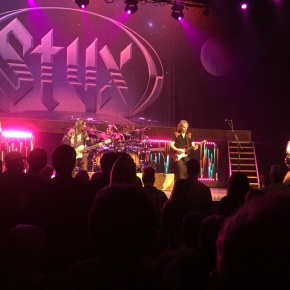 Concert Review: Styx at the Norton Center for the Arts, 10/12/2019